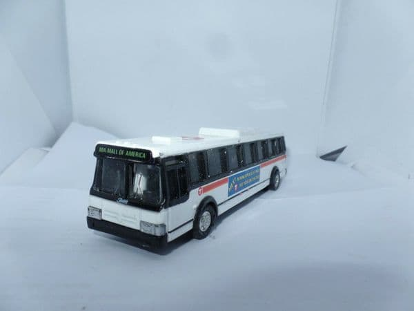 ROAD CHAMPS 59455 1/87 Scale CITY BUSES T Twins Cities Of Minneapolis UB Fault